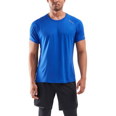 T-Shirt 2XU X-VENT G2 Manches Courtes Bleu/Argent 2021